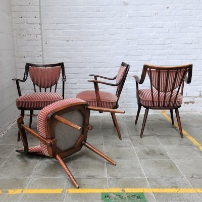 Set of 4 midcentury Imexcotra chairs