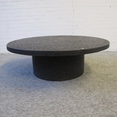 Brutalist concrete look coffee table, 1960s