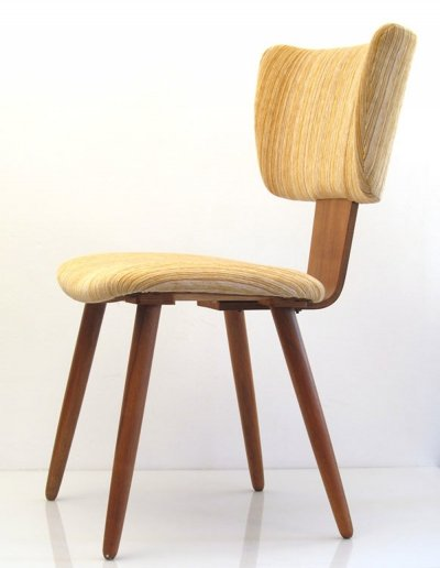 Upholstered plywood chair, 1950s
