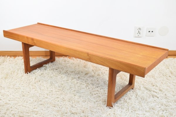 Torbjorn Afdal 1970's 'Krobo' Teak Bench from Norway