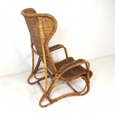 Vintage Rattan Orangery Chair by Lang & zn