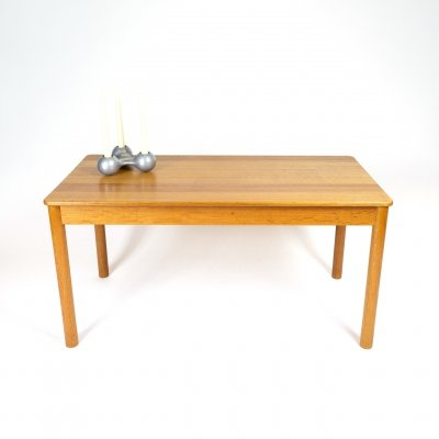 Model 5352 Solid Oak Coffee Table by Børge Mogensen for Fredericia, Denmark 1960s