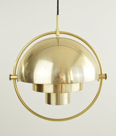 Louis Weisdorf Multi-Light Pendant, 1970's