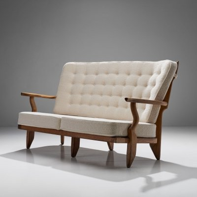 Guillerme et Chambron 'Juliette' Sofa, France 1950s