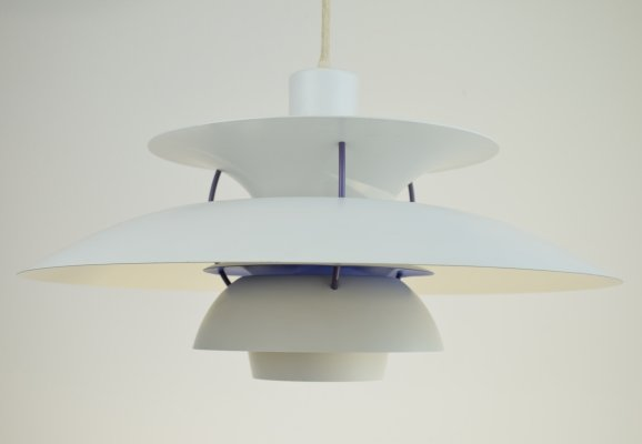 Poul Henningsen PH5 Ceiling Pendant Light, 1970's