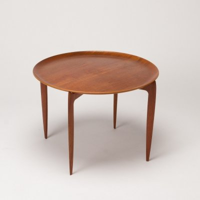 Teak Tray Table by Willumsen & Engholm for Fritz Hansen, Denmark 1966