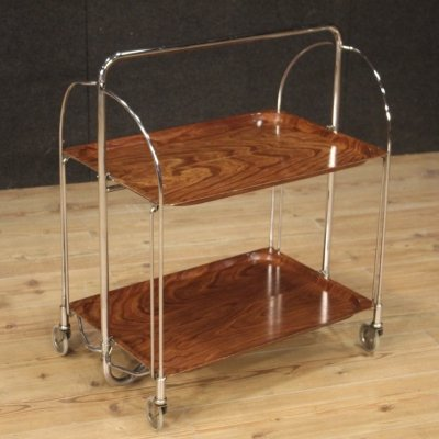 20th Century Metal & Plastic German Design Serving Trolley, 1970