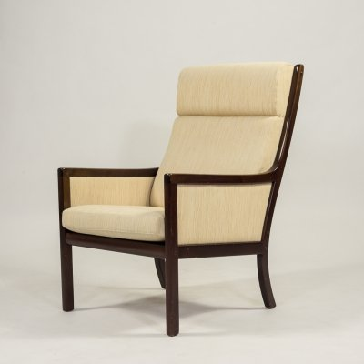 High back armchair by Ole Wanscher for P. Jeppensen