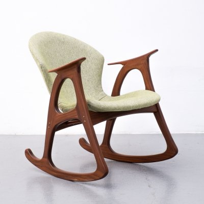 Rocking chair by Aage Christiansen for Erhardsen & Andersen, 1960s