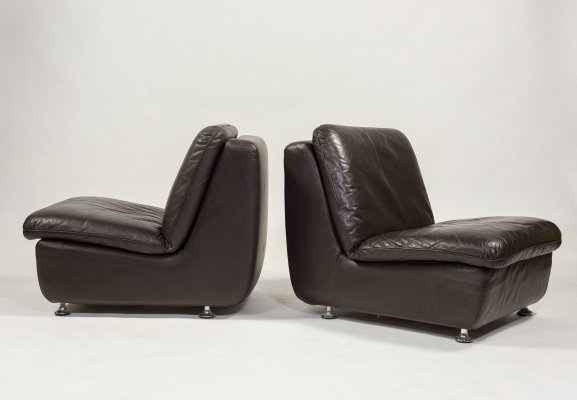 Five vintage modular seats from Walter Knoll Collection