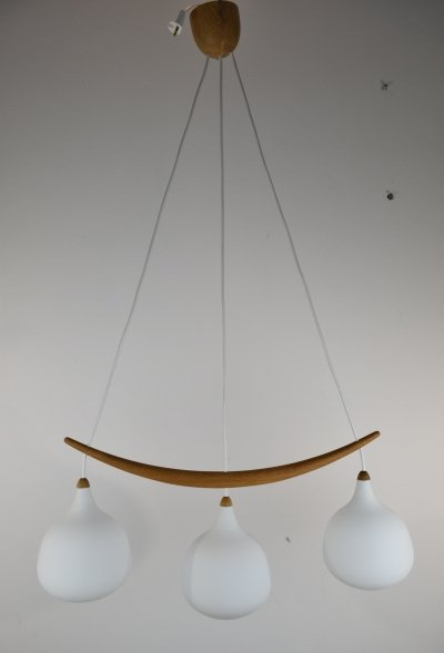 Uno & Osten Kristiansson Model 512 Pendant Light, 1960's