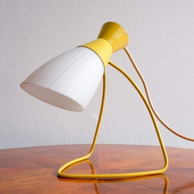 Model 1621 desk lamp by Josef Hůrka for Napako, 1950s