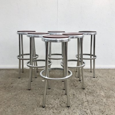 Vintage bar stools by Satelliet, 1980s