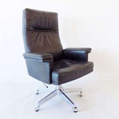 De Sede DS 35 leather office chair, 1960s