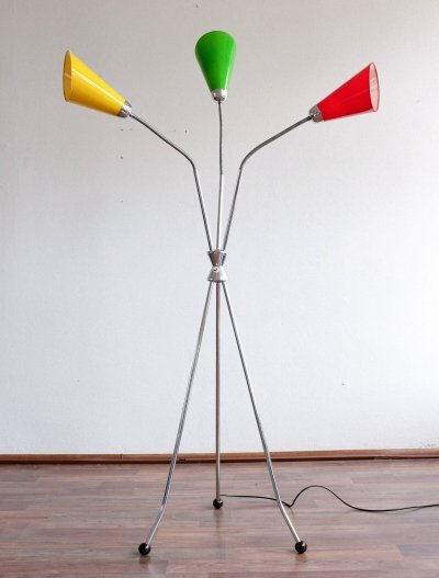 S 101 floor lamp by Lidokov, 1960s