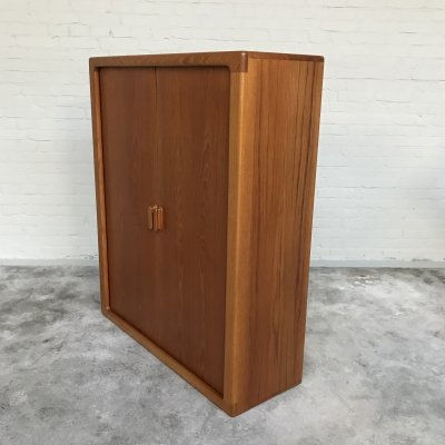 Teak Highboard by Dyrlund Denmark, 1960s