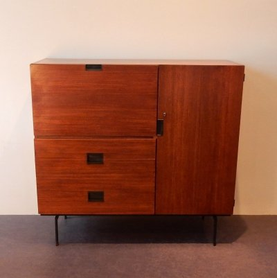 CU01 Japanese series teak cabinet by Cees Braakman for Pastoe, The Netherlands