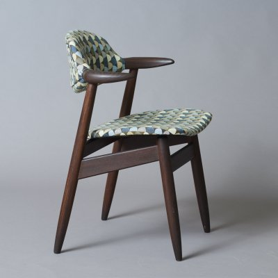 Cowhorn arm chair by Tijsseling, 1950s