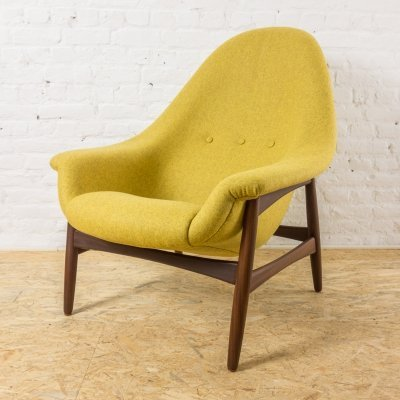 Rare lounge chair by Hans Olsen for Bramin