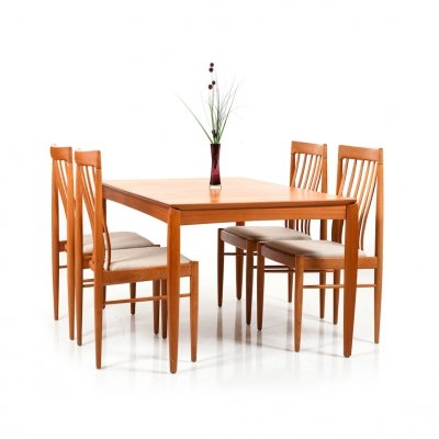 Danish Dining set by Henry W. Klein for Bramin, 1960s