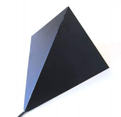 Pyramid wall lamp by Anvia, 1960s
