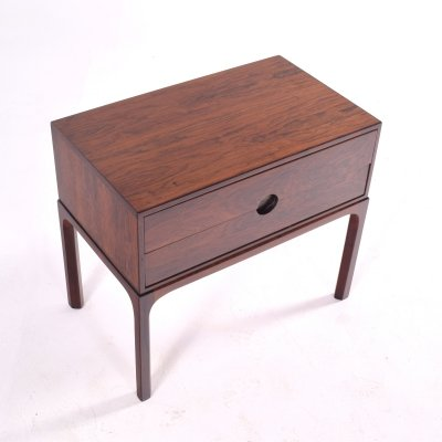 Mid-Century Rosewood Bedside Table by Kai Kristiansen, 1950s