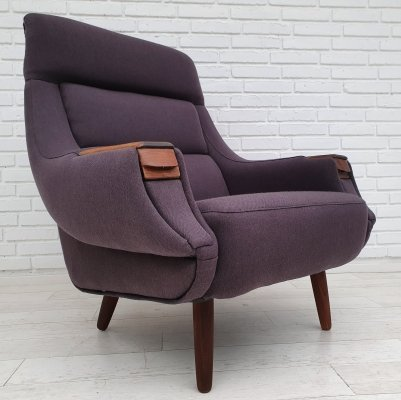 Danish armchair by Henry Walter Klein for Bramin, 1970s