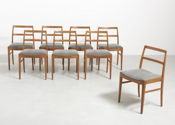 Set of 8 'Model 430' chairs by Arne Vodder for Sibast Denmark