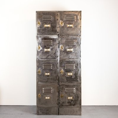 George V Steel Lockers by Roneo from Abingdon School, England 1932