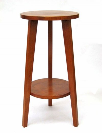 Fifties retro wooden stand