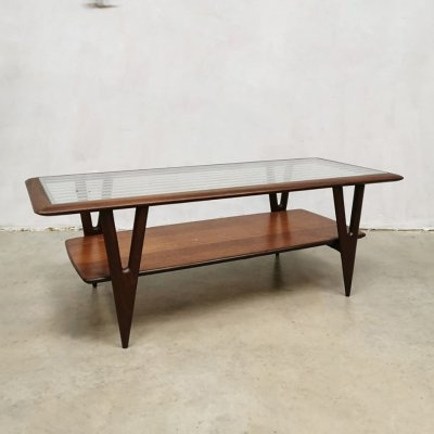 Midcentury Italian design coffee table by Cesare Lacca for Cassina