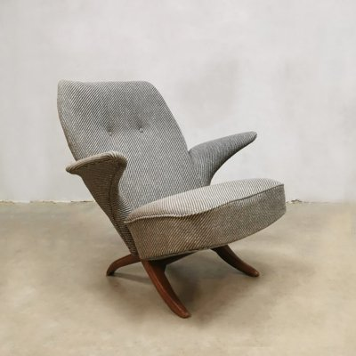 Midcentury Dutch design Pinguin chair by Theo Ruth for Artifort