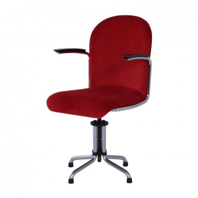 Gispen 456 Desk Chair, 1950s