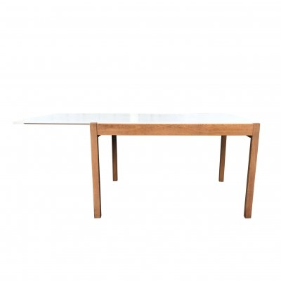 Extendable Japanese series TB7000 dining table by Cees Braakman for Pastoe, 1970s