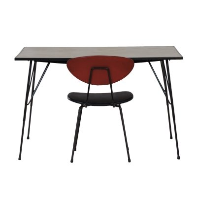 Vintage Table & Chair by Rudolf Wolf for Elsrijk, 1960s
