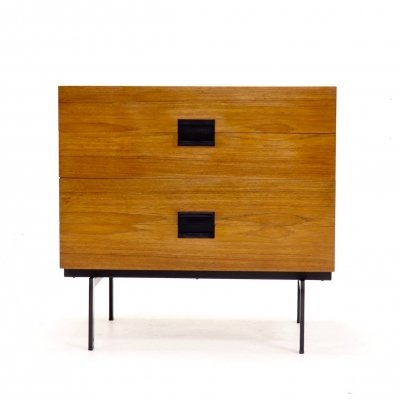 Japanese Series Pastoe DU10 drawer cabinet by Cees Braakman, 1958