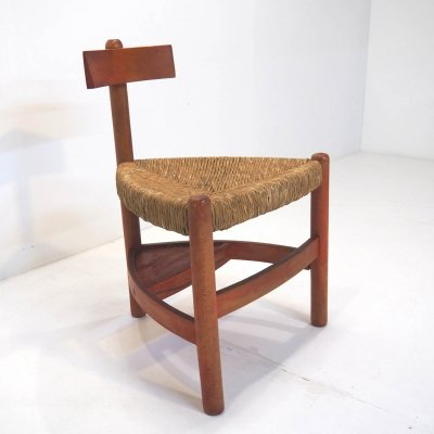 Rare 1950's church chair