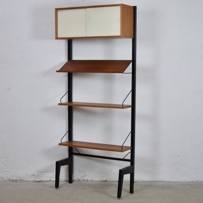 Wall unit by Poul Cadovius for Royal Systems, Denmark 1950's