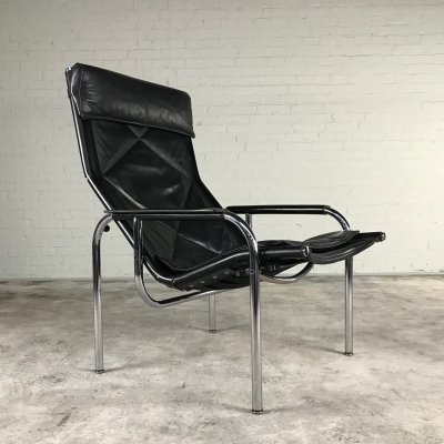 HE 1106 Lounge Chair by Strassle Switzerland, 1970s