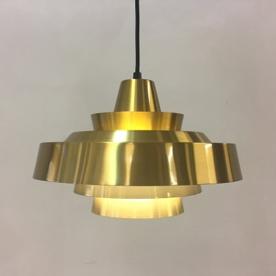 Brass Danish design Super Light pendant, 1960s
