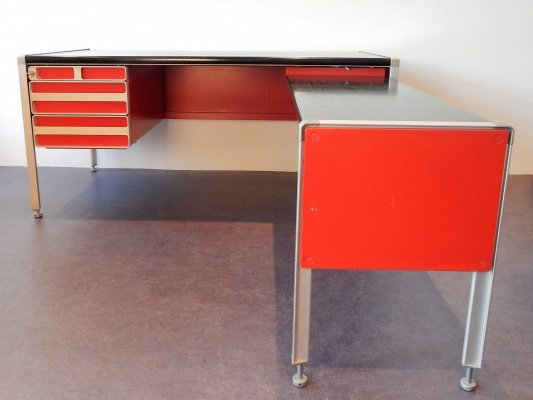 Rare vintage writing desk for NOBØ, Norway 1970s