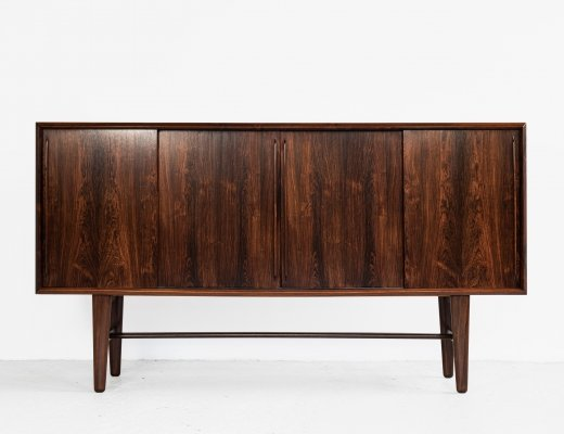 Midcentury Danish highboard in rosewood by Arne Vodder for HP Hansen