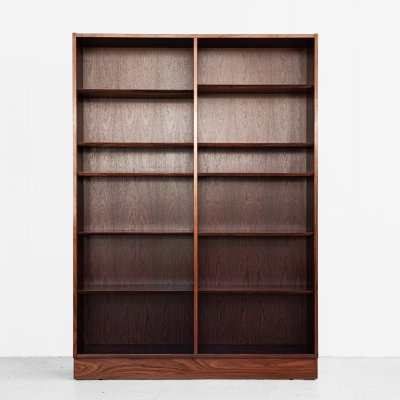 Midcentury Danish book shelf in rosewood by Hundevad, 1960s
