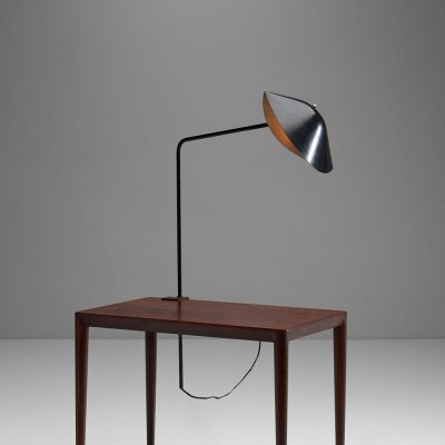 Serge Mouille 'Agrafée simple' Desk Lamp, France 1957