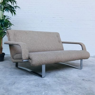 Rare Artifort model 647/2 Lounge Sofa by Kho Liang Ie, 1970s
