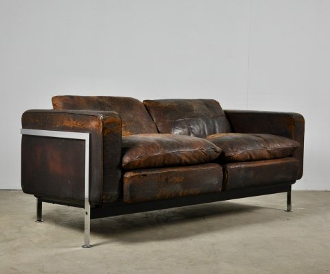 RH 302 Sofa by Robert Haussmann for De Sede, 1960s
