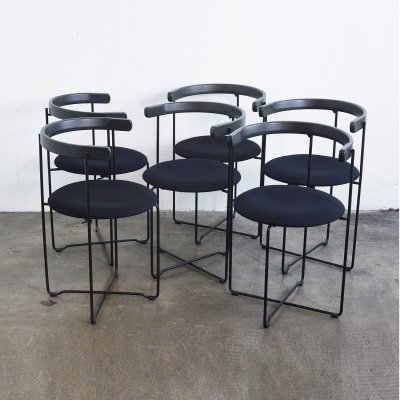 Set of 6 Soley dining chairs by Valdimar Hardarson