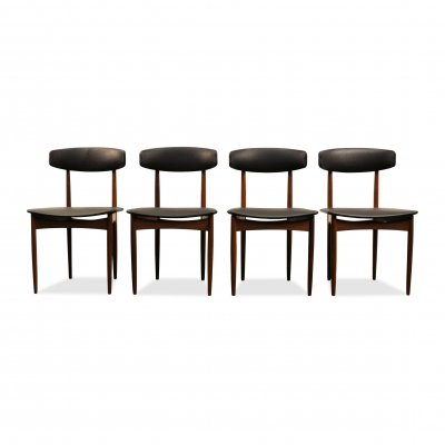 Vintage Danish design Glostrup teak dining chairs