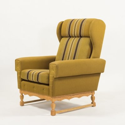 Svend Skipper high back armchair, 1960's