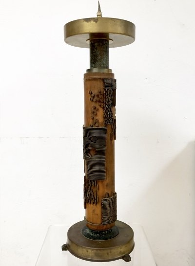 One of a kind large candlestick, 1930's